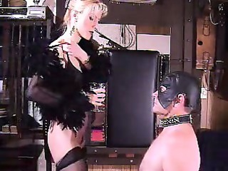 hot way-out older dominatrix bizarre spitting
