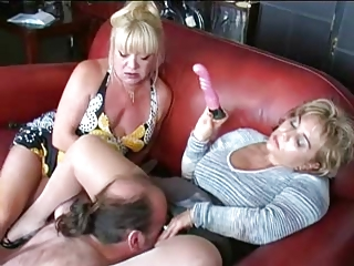 matures toy and dominate lad